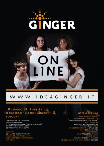 GINGER ... online! graphic by DiversiAssociati