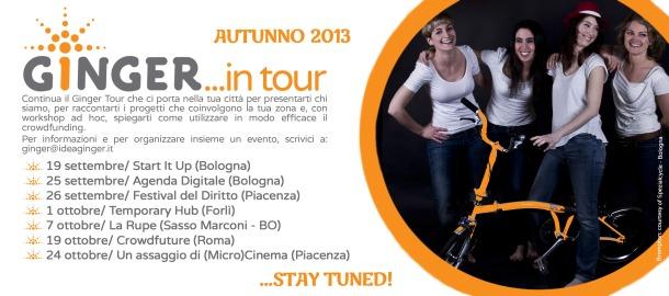 GINGER Tour AUTUNNO