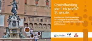 GINGER e EmilBanca premieranno le 10 migliori campagne di crowdfunding
