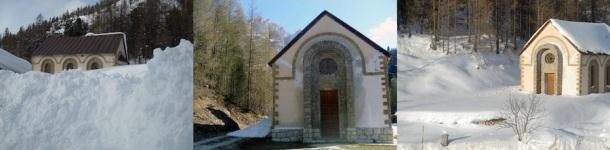 La chiesetta di Piani del Falzarego